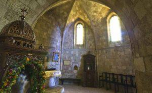 Ancient Church at Filerimos.