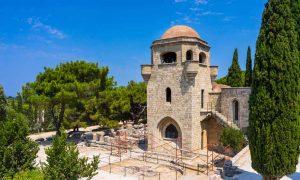 The monastery at Filerimos.