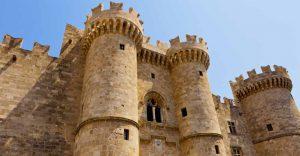 Rhodes Castle.